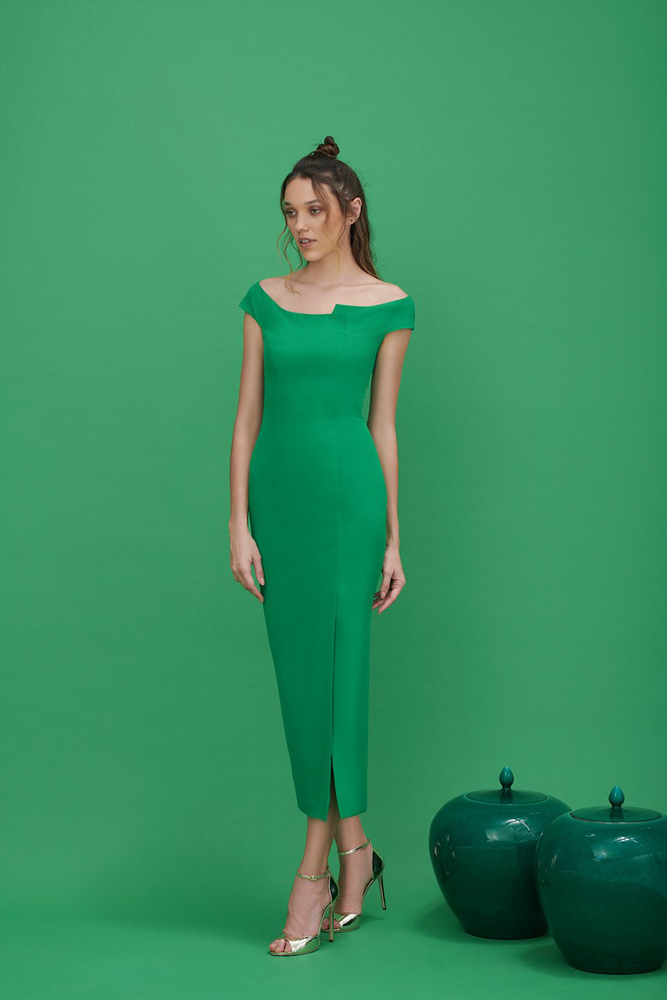 simple fitted dress