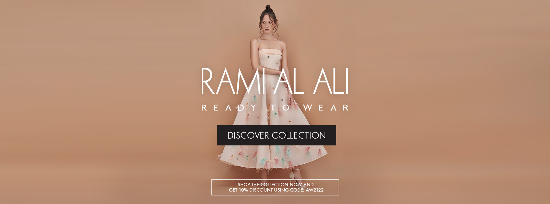 10% offer on ready to wear